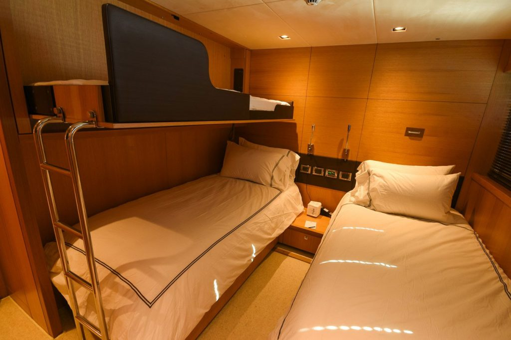 112-ft.-Sunseeker-Power-Yacht-Convertible-Side-bunk-Stateroom