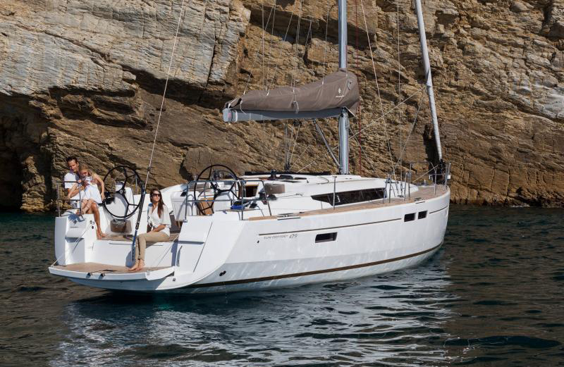 48 ft. Sun Odyssey 479 - Luxury Sailboat - Up to 8 People1