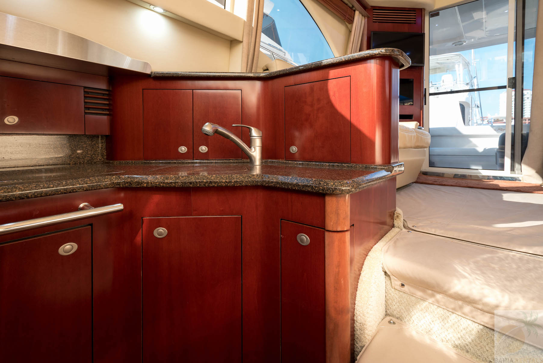 44 ft. Sea Ray – Luxury Power Yacht - Down Galley