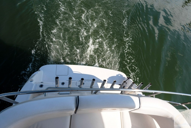 44 ft. Sea Ray – Luxury Power Yacht - Stern Fly view