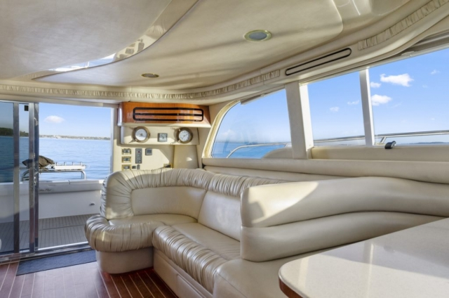 50 ft. Sea Ray – Luxury Power Yacht - Cockpit view from Salon