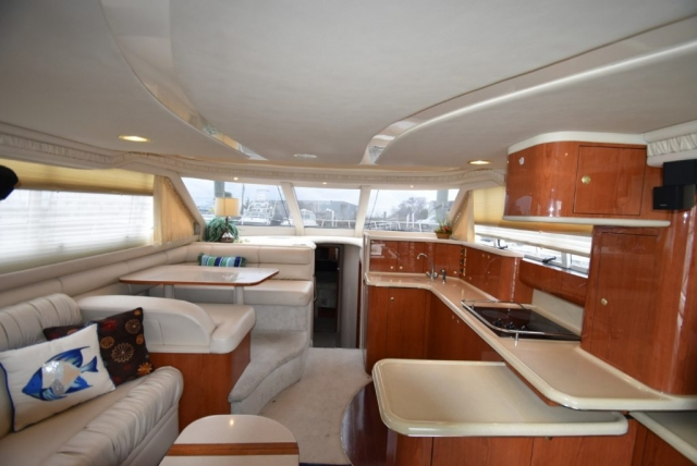 50 ft. Sea Ray – Luxury Power Yacht - Dinette -galley