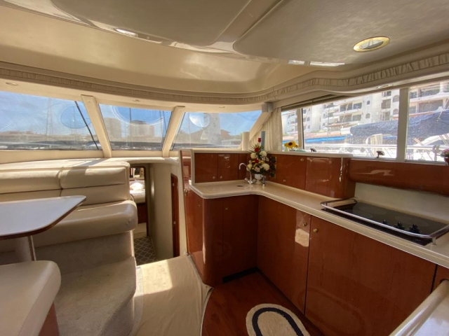 50 ft. Sea Ray – Luxury Power Yacht - Open Plan Galley