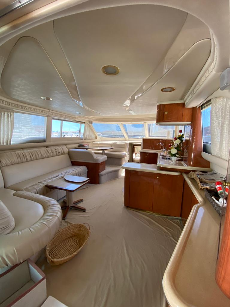 50 ft. Sea Ray – Luxury Power Yacht - Spacious Salon