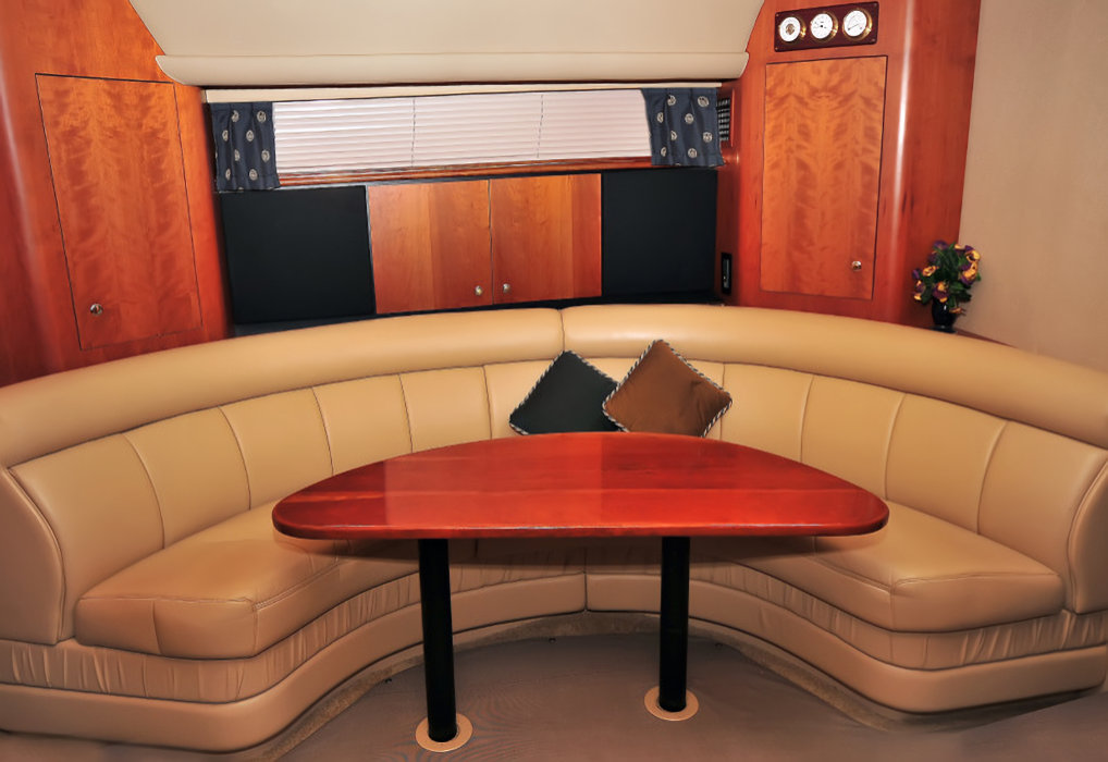 44-ft.-Cruiser-Luxury-Power-Yacht-Down-Air-Cond.-Cabin-Convertible-Sofa-table-to-bed