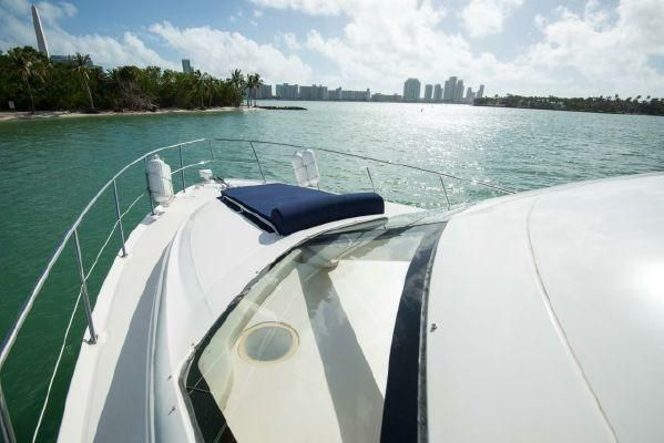 44-ft.-Sea-Ray-–-Luxury-Power-Yacht-Front-Deck-cushion