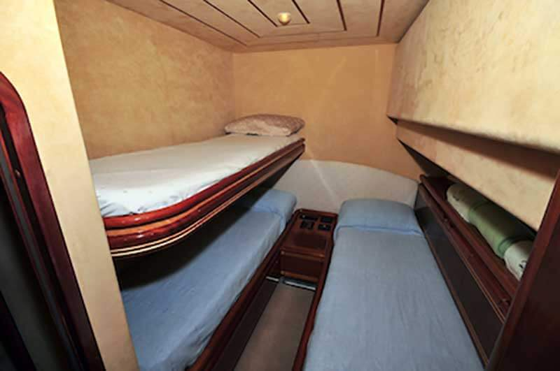 80-FT-Ferretti-Power-Yacht-Up-to-30-People-Guest-Cabin-with-bunks