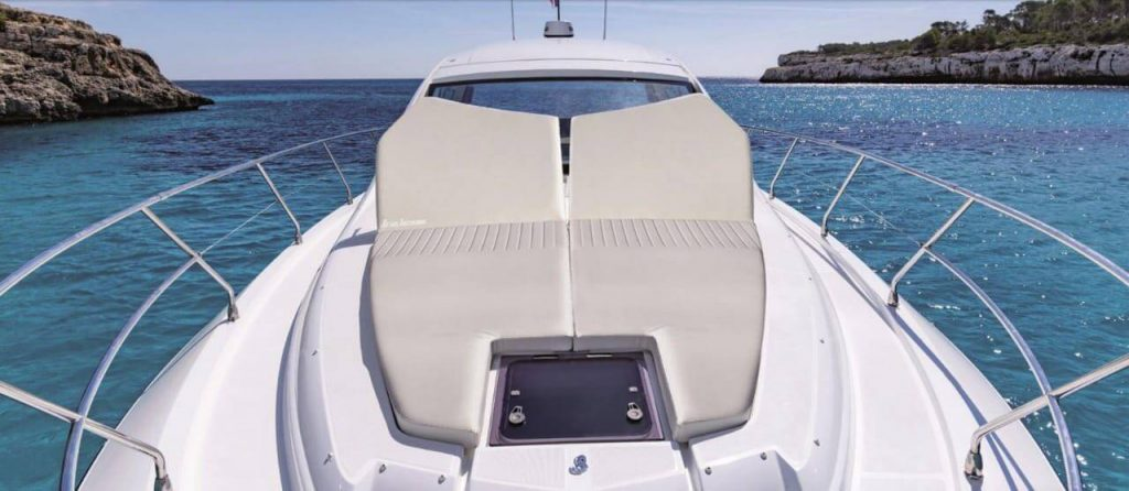 Beneteau-GT-46-ft-Fold-up-bow-cushions-for-comfort-1