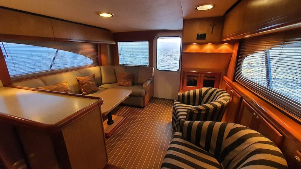 Fully Furnished Saloon